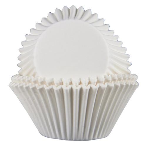 "3"" White Mini Baking Cups 1000/pk"