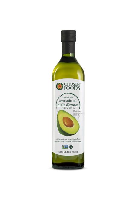Chosen Foods 100% Pure Avocado Oil 750mL
