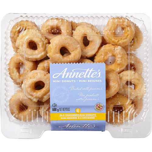Annettes, Old Fashioned Mini Donuts  40x15g