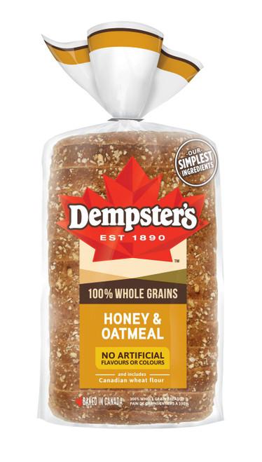 100% Whole Grains Honey & Oatmeal 1 Loaf