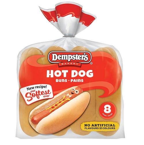 Hotdog Buns 8's