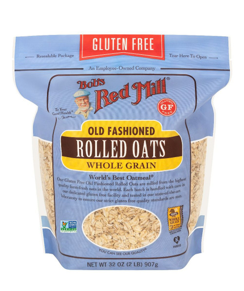 Bob's Red Mill Oats Rolled Old Fashioned 907g