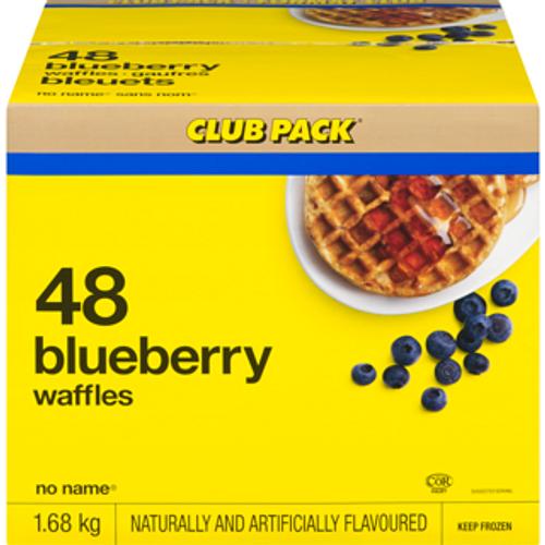 Waffles Blueberries - NN 48/pk