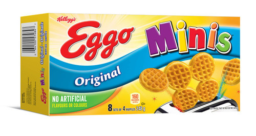 Waffles Minis Original - Kellogg's 8x4/pk