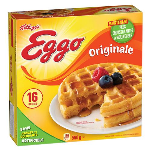 Waffles Original - Kellogg's 16/pk