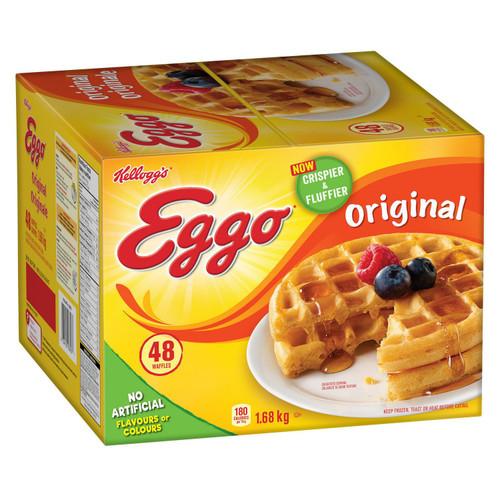 Waffles Original - Kellogg's 48/pk