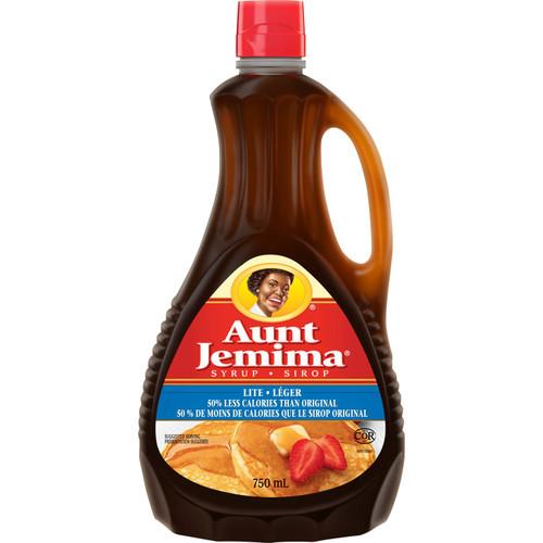 Aunt Jemima Lite Syrup 750mL