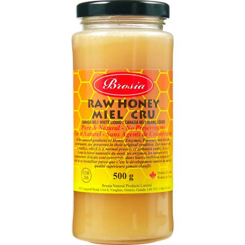 Brosia Raw Honey 500g