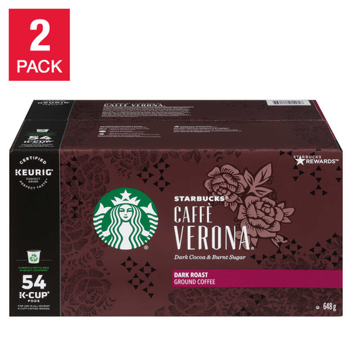 Starbucks Café Verona K-Cups 54 Pods