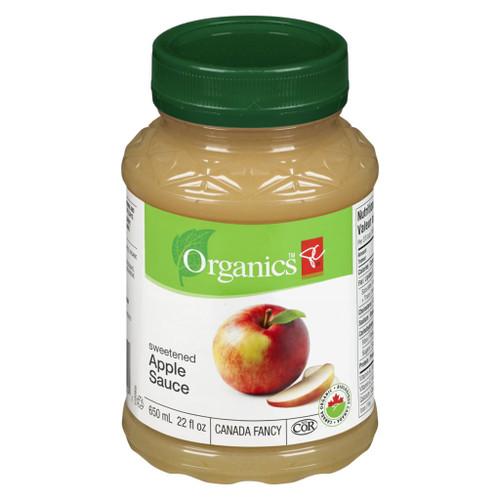 Apple Sauce Sweet Organic (Plastic Jar) 650mL