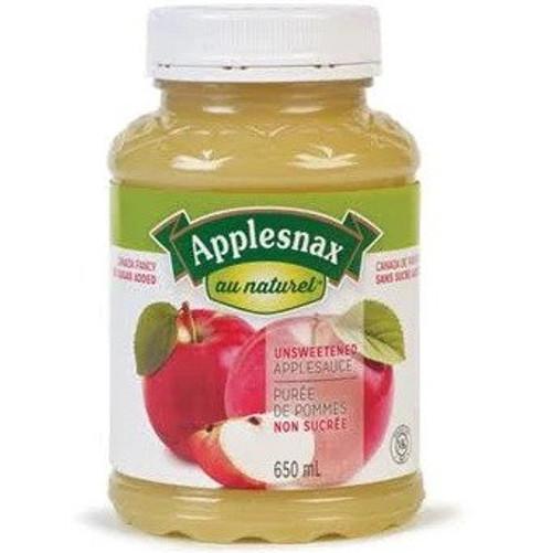 Apple Sauce Unsweetend (Plastic Jar) 650mL