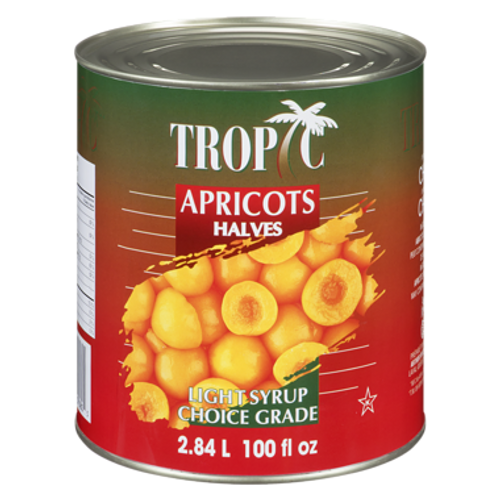 Apricot Halves in Light Syrup 2L