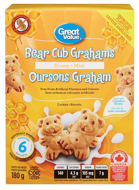 Bear Club Graham Honey 180g