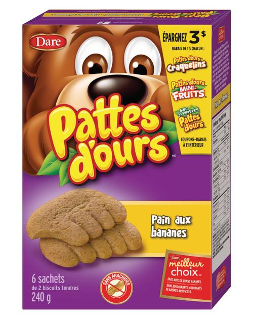 Bear Paws Banana Bread Cookies 240g