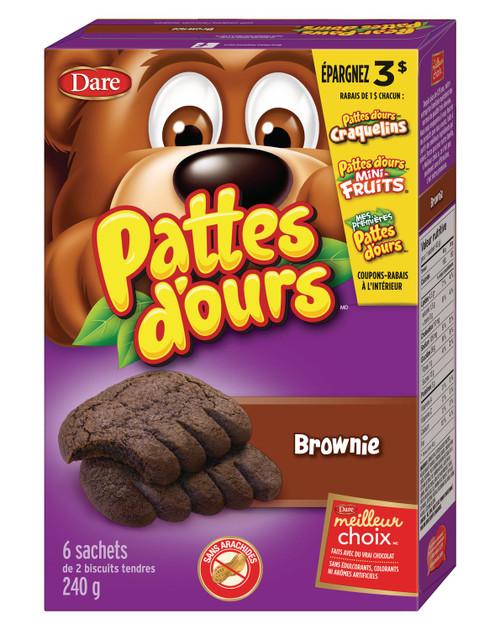 Bear Paws Brownie Cookies 240g