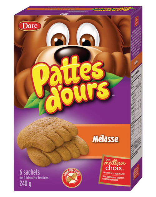 Bear Paws Molasses Cookies 240g
