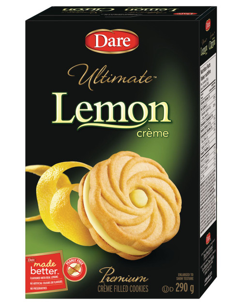 Ultimate Dare Lemon Crème Filled Cookies 290g