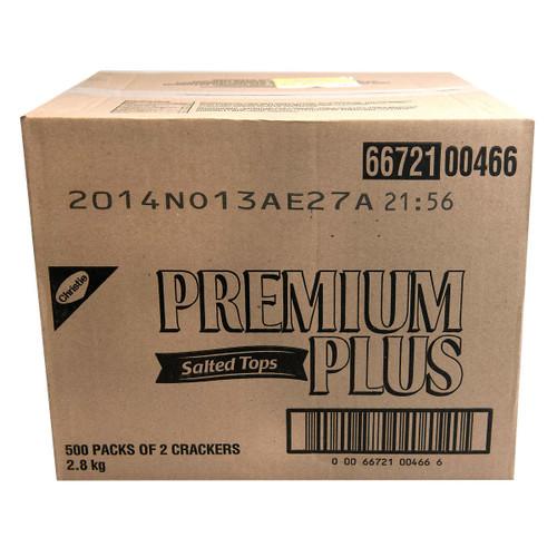 Christie Premium Plus Crackers Salted Tops 500x2's