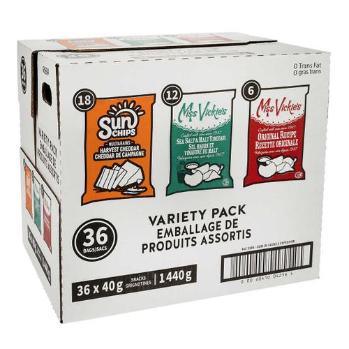 Frito Lay Premium Variety Pack 36x40g