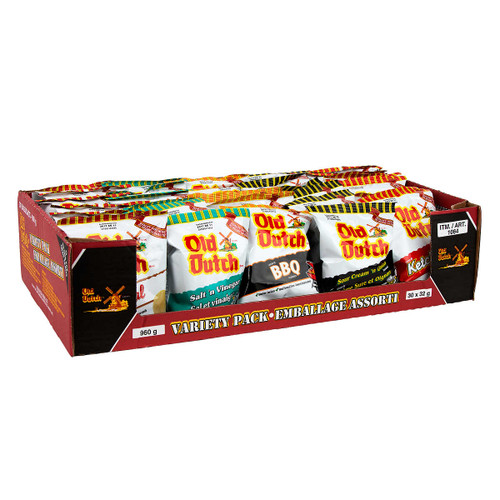 Old Dutch Chips Variety Pack 30x32g