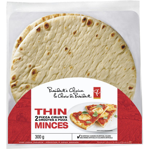 PC Thin Pizza Crust Round 300g