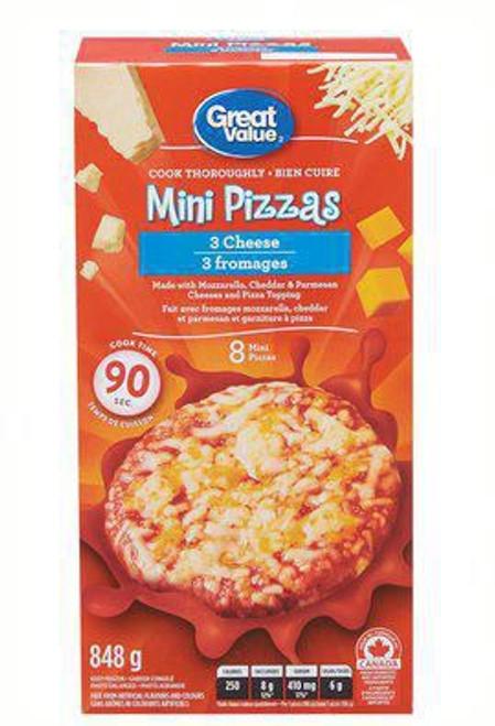 Three Cheese Mini Pizza 8's