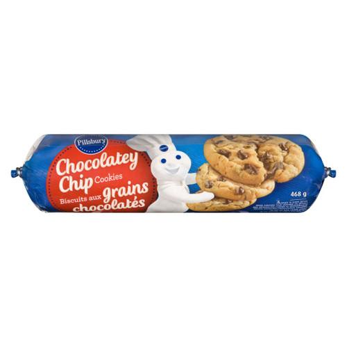 Pillsbury Chocolate Chip Chub 468g