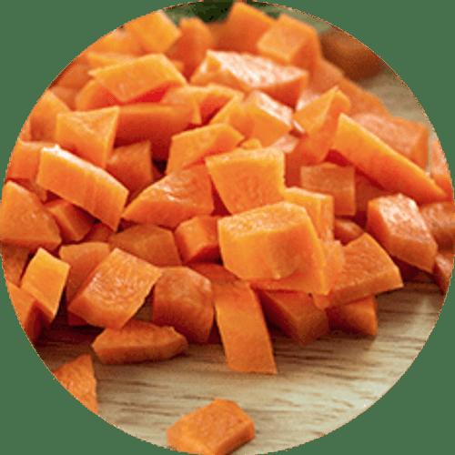 Carrot Diced 2lg