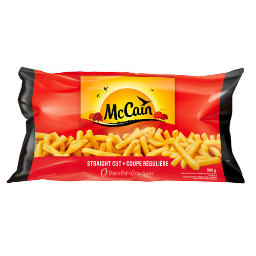 Straight Cut Fries 900g