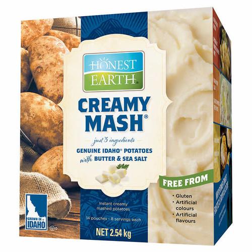 Honest Earth Creamy Mash Instant Mashed Potatoes 14x181g