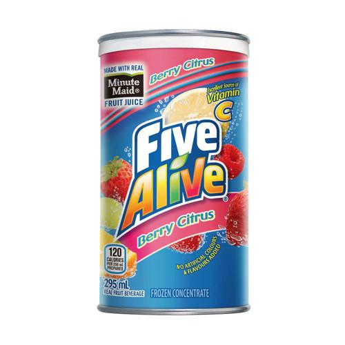Minute Maid Five Alive Berry Citrus Fruit Juice 295mL
