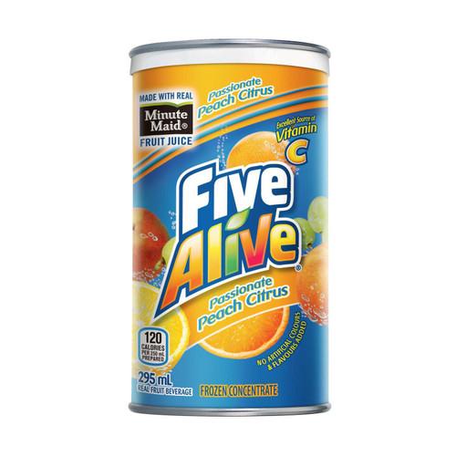 Minute Maid Five Alive Passionate Peach 295mL