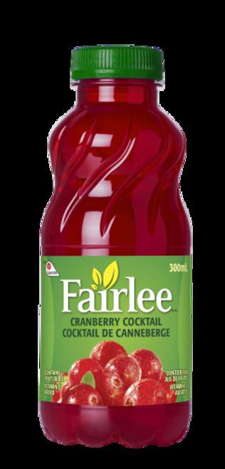 Fairlee Cranberry Juice 24x330mL