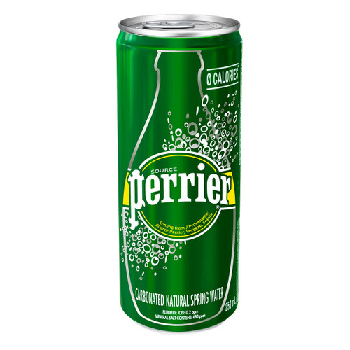 Perrier Carbonated Water Slim Can  35x250mL
