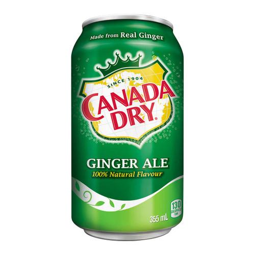 Canda Dry Gingerale 24x355mL