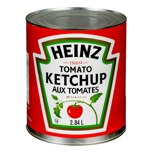Heinz Ketchup Can 2.84L