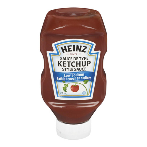 Heinz Ketchup Low Sodium 750mL