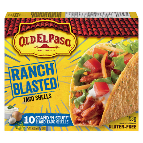 Gluten-Free Old El Paso Ranch Blasted 153g