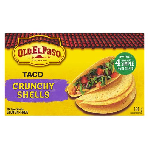 Gluten-Free Old El Paso Taco Crunchy Shells 191g