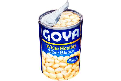 Goya White Hominy 790g