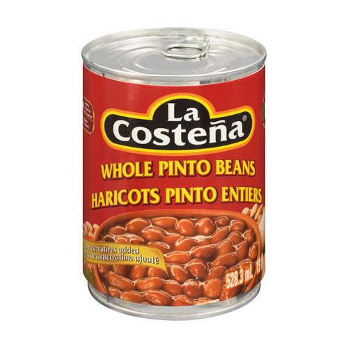 La Costena Whole Pinto Beans 528mL