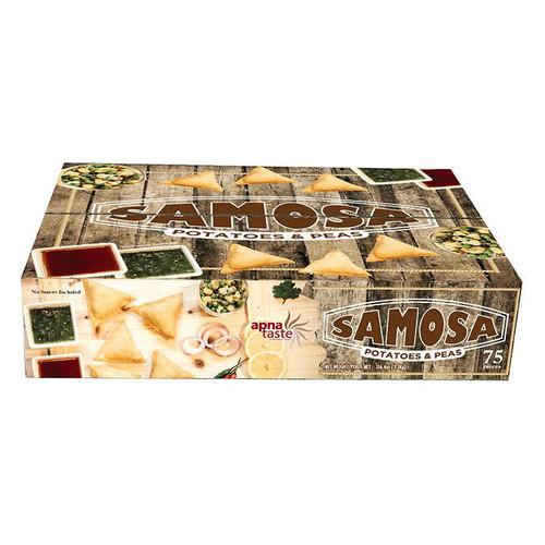 Apna Taste Vegetable Samosas 75's