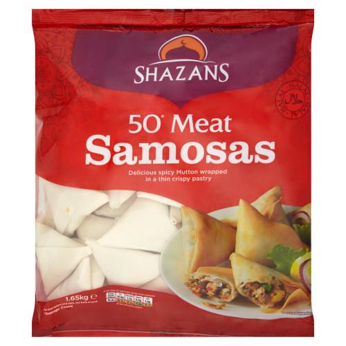 Halal Beef Samosa 50's