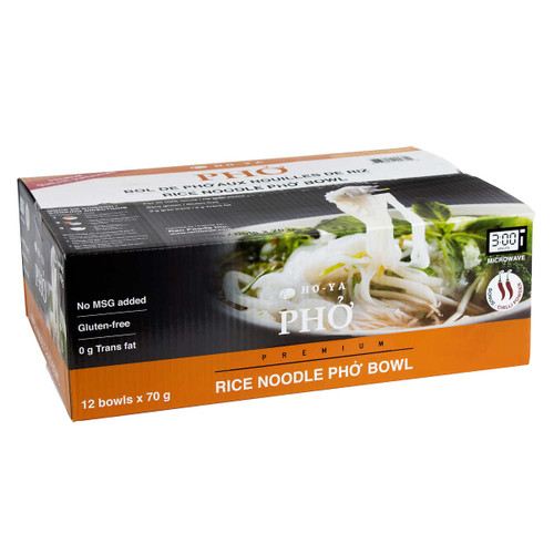 Ho-Ya Instant Rice Noodle Pho Bowls 12x70g