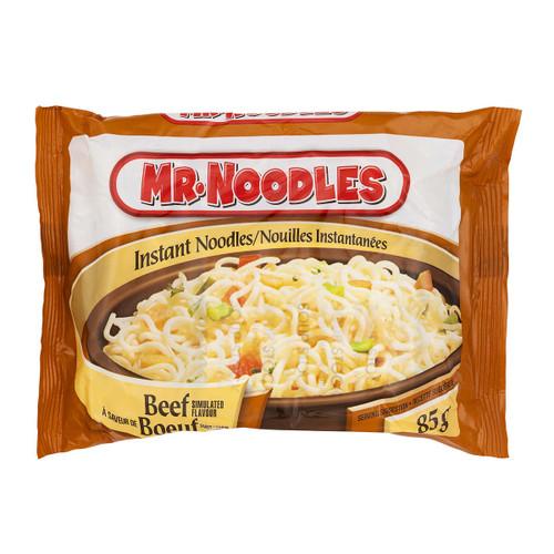 Mr Noodles Beef Flavour Flat Instant Noodles 24x85g
