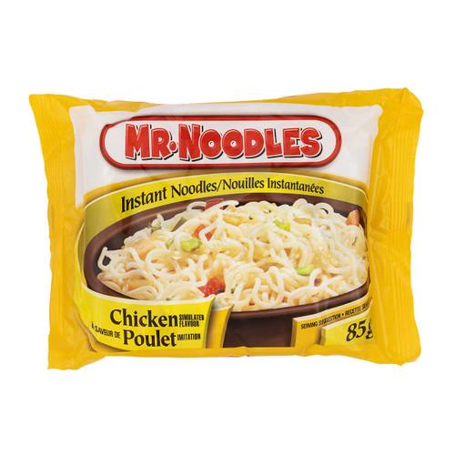Mr Noodles Chicken Flavour Flat Instant Noodles 24x85g