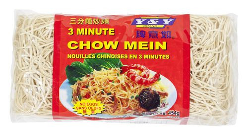 Y & Y 3 Minute Chow Mein Noodles 454g