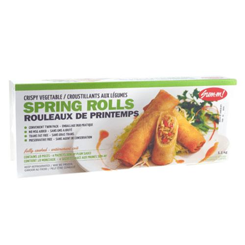 Sum M Vegetable Spring Rolls 1.1kg