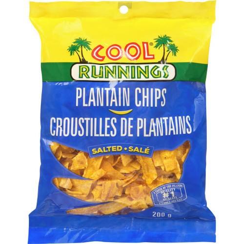 Cool Runnings Plantain Chips Salted 200g