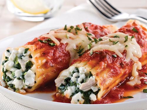 Cannelloni Ricotta & Spinach 80pcs